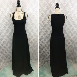 Nicole Miller New York Black Long Gown